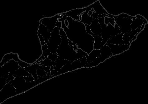 Map of Montauk