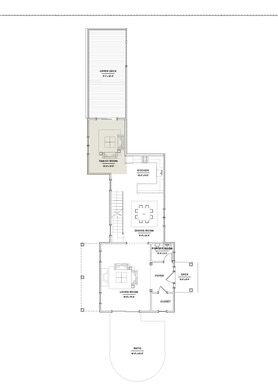 Hilltop 1 Second Floor Family Room