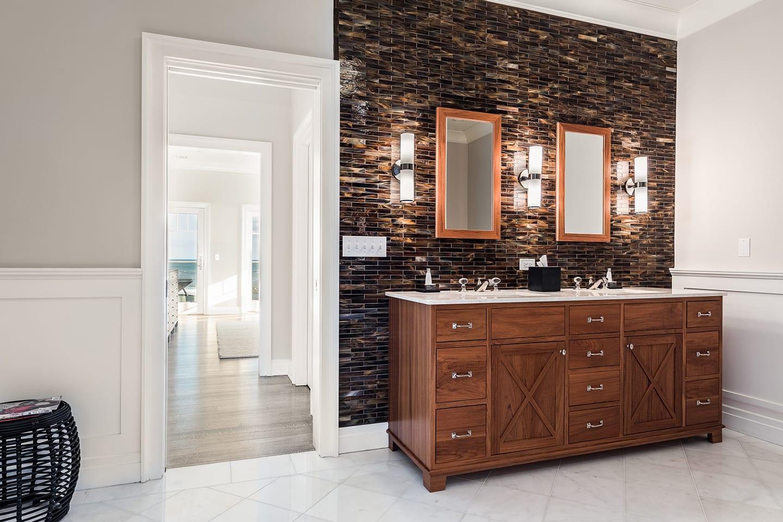 Salt Sea 9 Bathroom vanity with two sinks