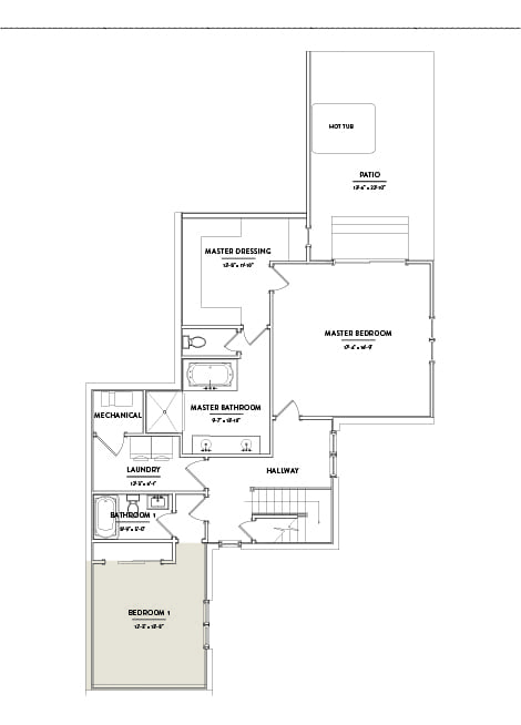 Hilltop 10 First Floor Bedroom 1