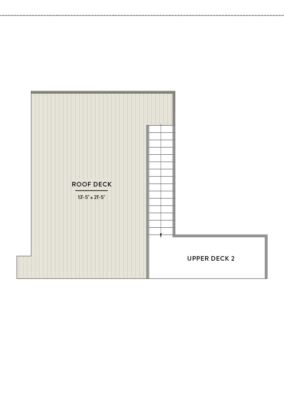 Hilltop 10 Third floor Roof Deck